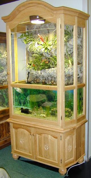 aquarium im schrank