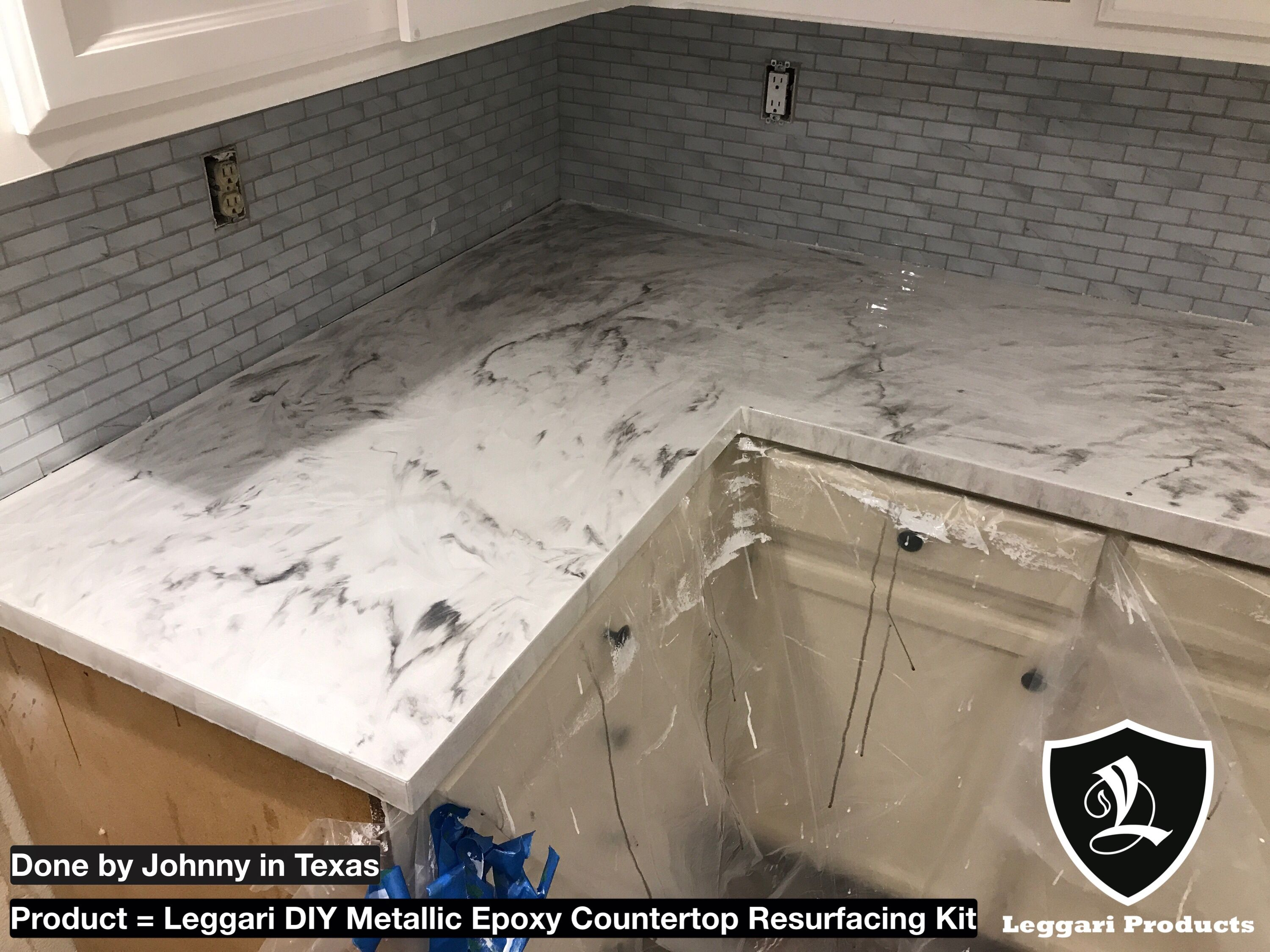 #diy #white #marble #countertop #kits Right Over Your Existing #countertops
