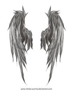 Angel Wings Should It Happen They Shall Appear To Be Anatomically Able To Carry Me That S Really The Onl Angel Wings Tattoo Wings Tattoo Wing Tattoo Designs