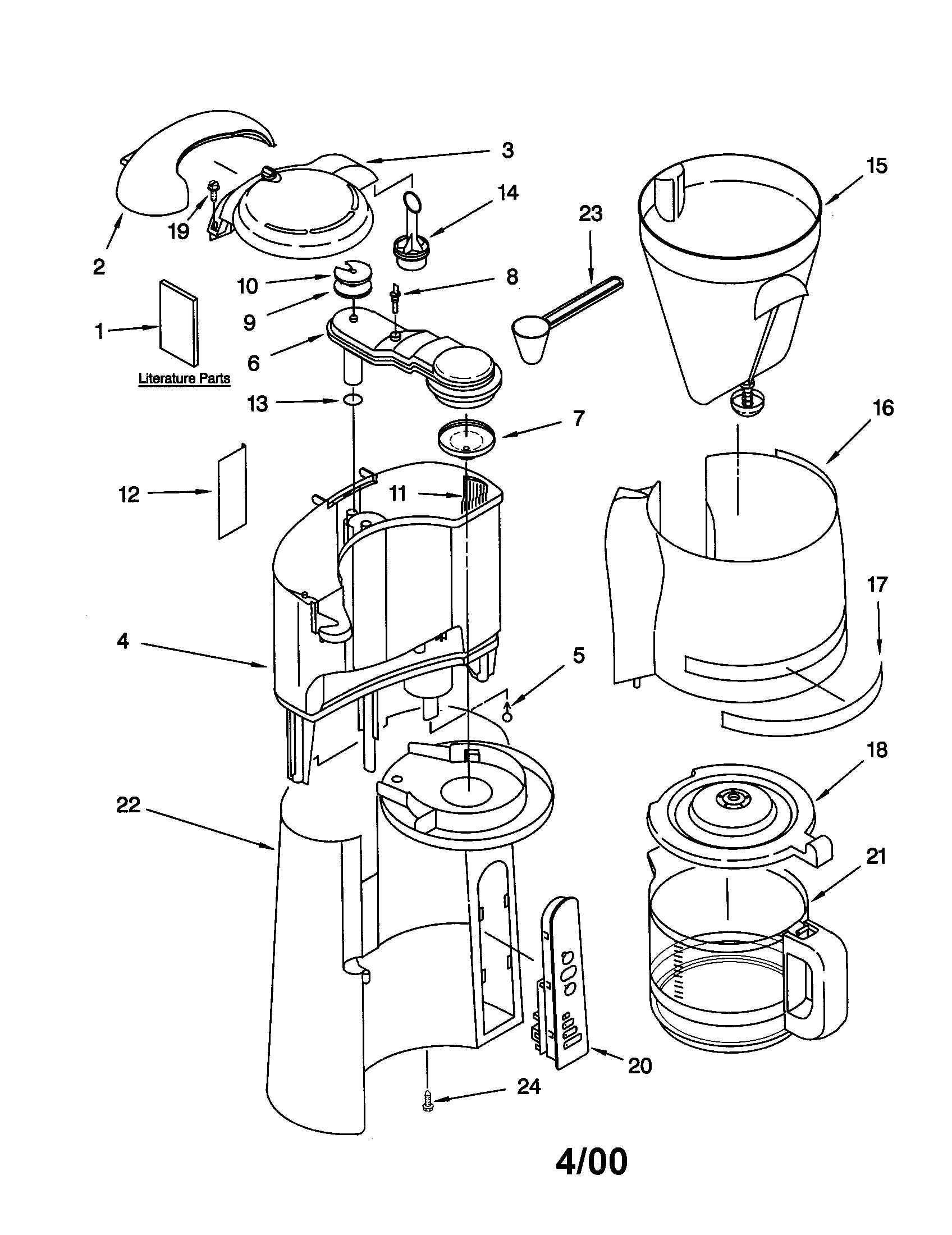 Kitchenaid Coffee Maker Arspartsdirect