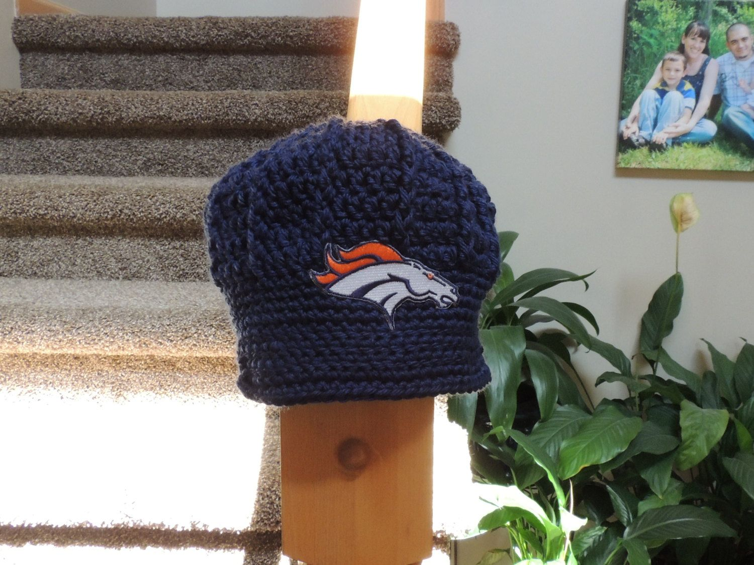 The Original Denver Broncos Crochet Newsboy Hat by LayneCouture, $2 ...