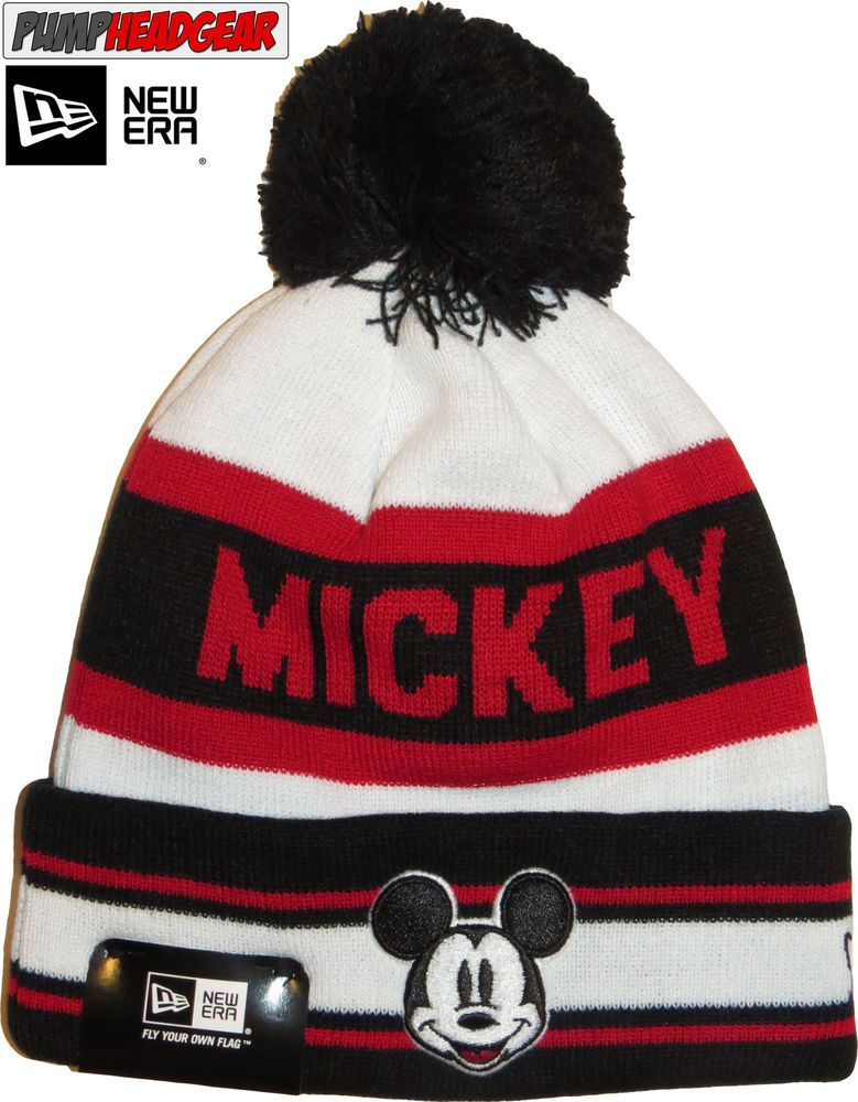 ... authentic new era mickey mouse disney jake bobble hat ced9d 19bd1 917c1ecc886