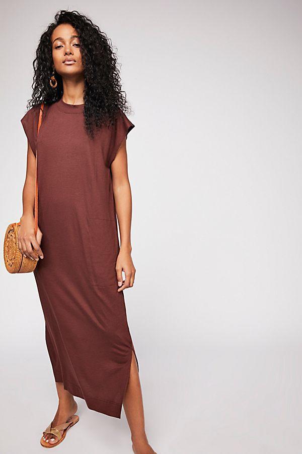 3c34cd0b6e45d9 All Day Long Midi T-Shirt Dress | Style | Dresses, Midi shirt dress ...