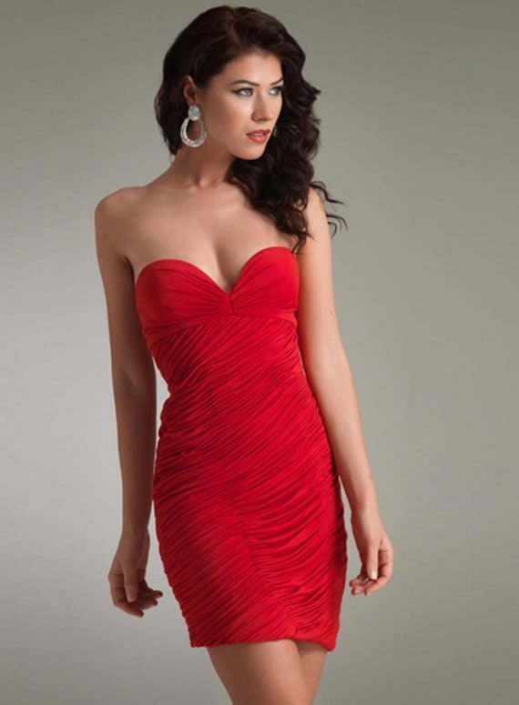 1000  images about Cute Red Party Dresses For Women on Pinterest ...