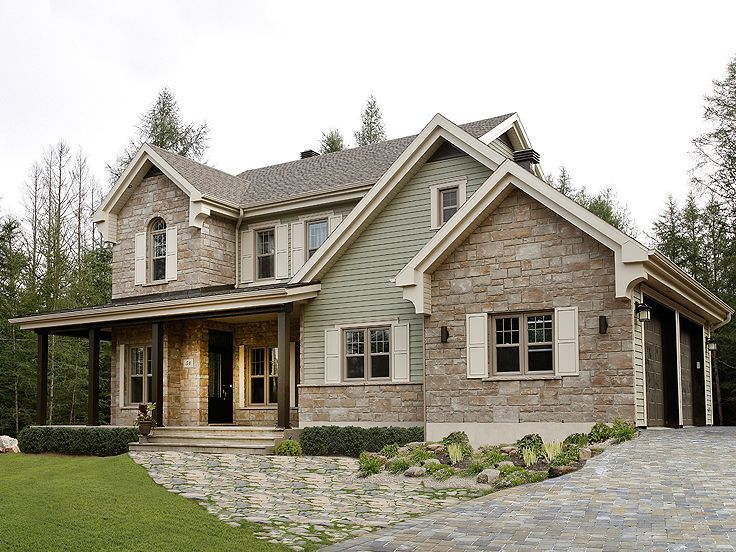 20 beautiful country house designs - Country Home Exterior