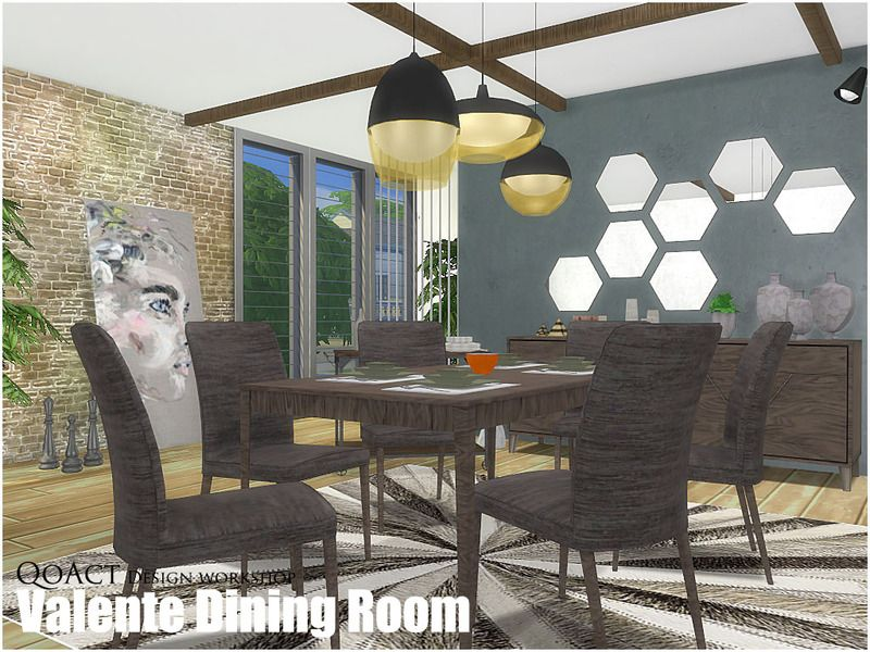 Find This Pin And More On Sims 4 Furniture Valente Dining Room