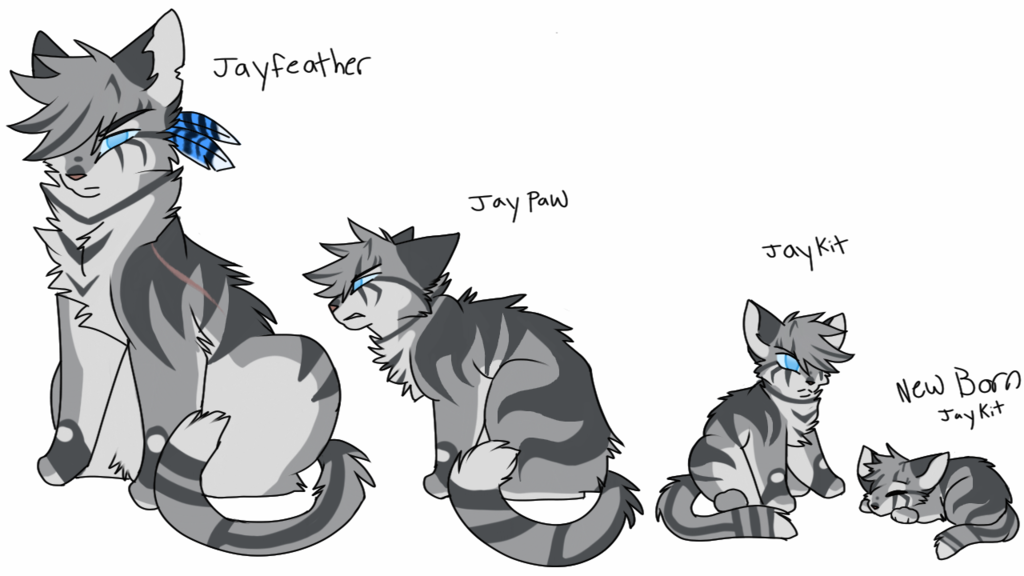 Jayfeather Redo By Nizumifangs With Images Warrior Cats