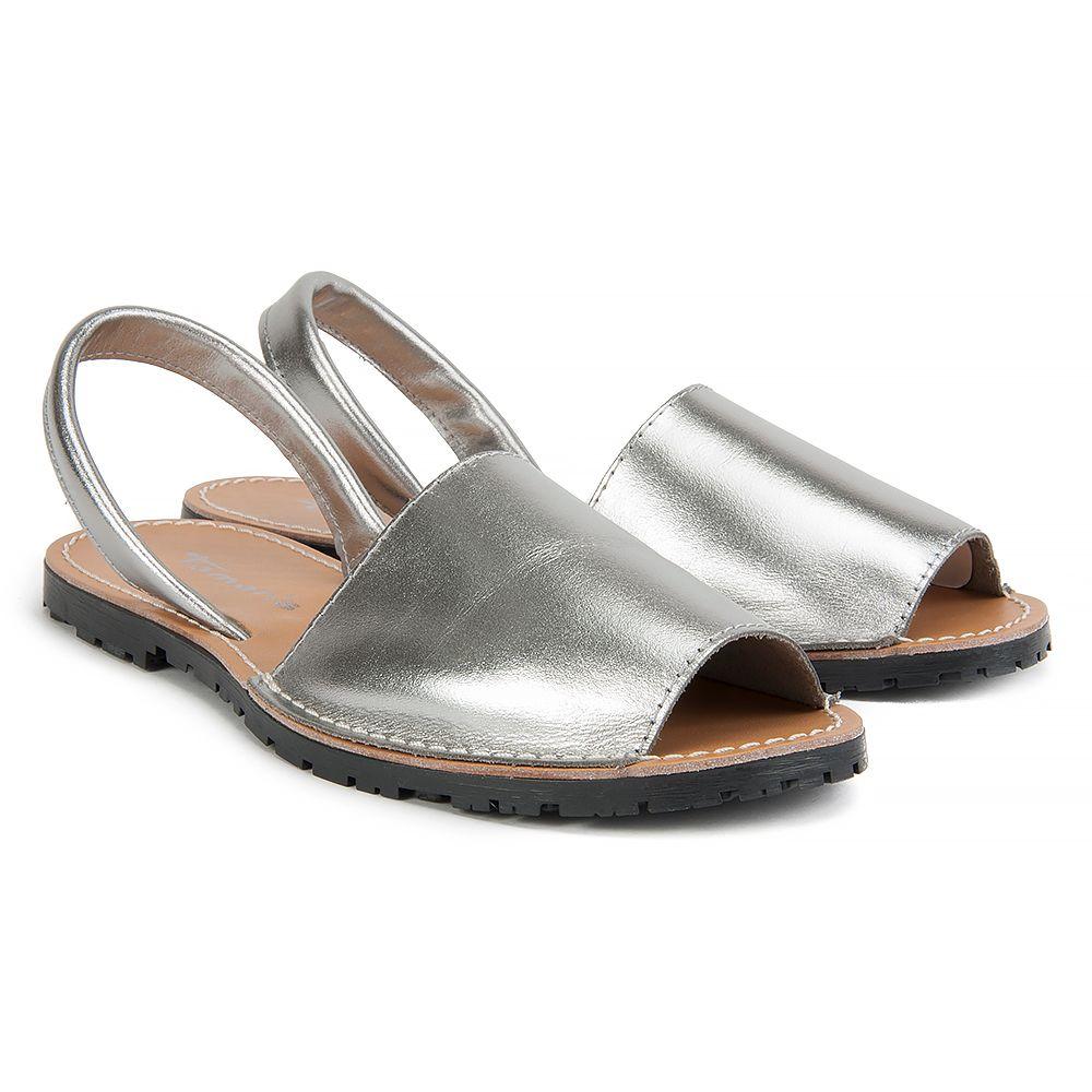 Sandaly Tamaris 1 28916 38 933 Silver Metall Sandaly Na Plaskim Obcasie Sandaly Buty Damskie Filippo Pl Shoes Heeled Mules Mule Shoe