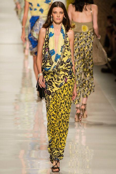 #Etro #Spring2014 #Catwalk #trends #MilanFafhionWeek #Milano #SS2014  #mixPrints #estampadosMix
