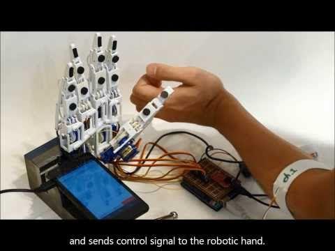 Handie, una mano robótica más asequible gracias a los smartphones y la impresión 3D - Engadget en español