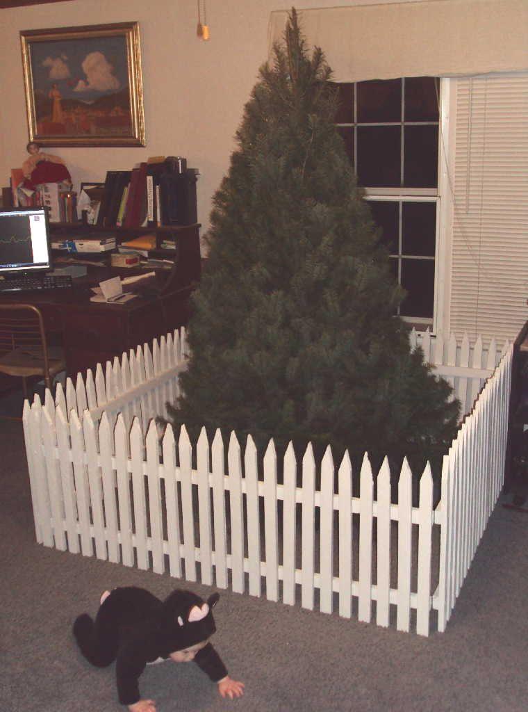 Christmas tree gate tutorial part 2 christmas tree gate