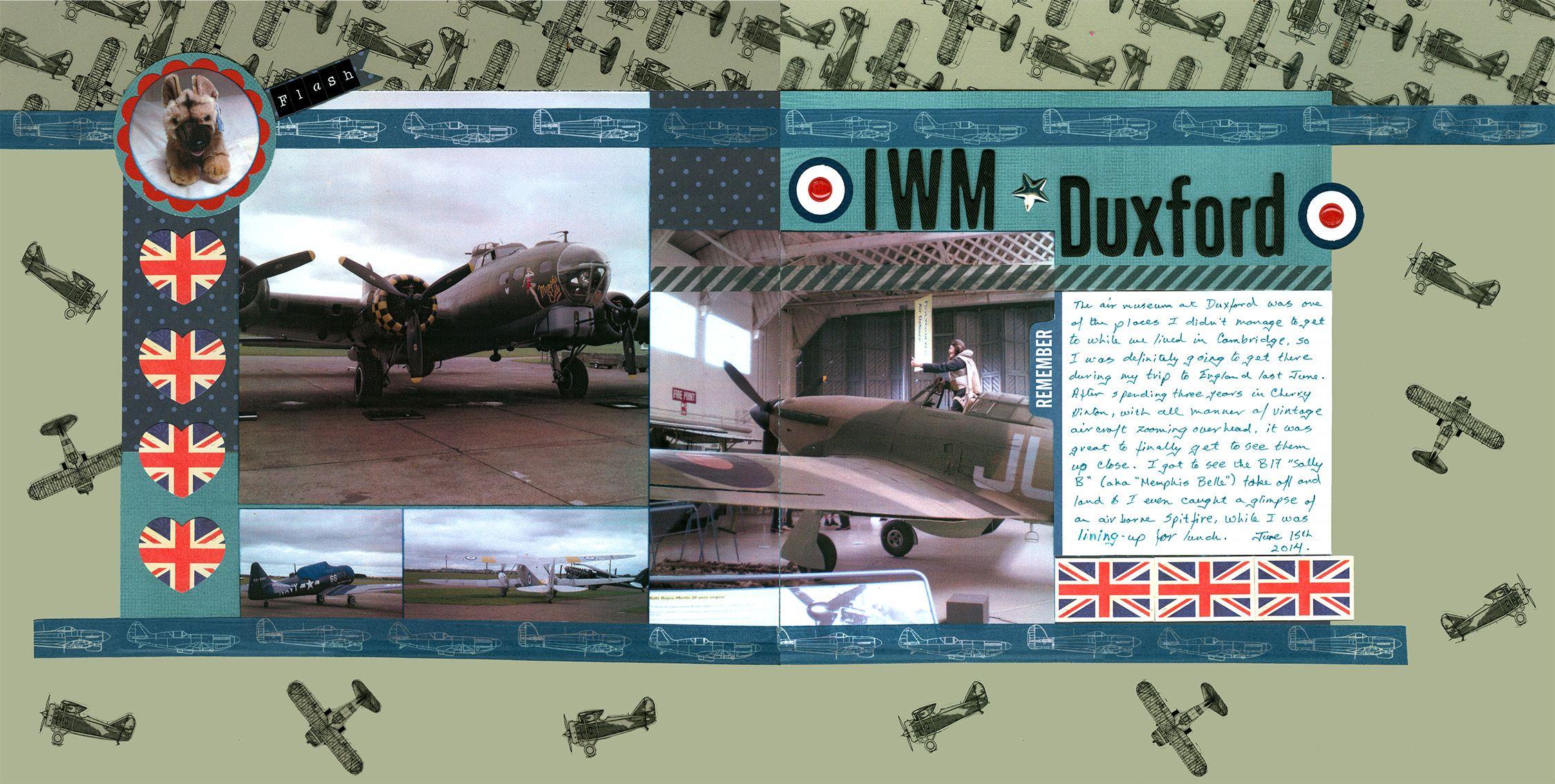 IWM Duxford - Scrapbook.com