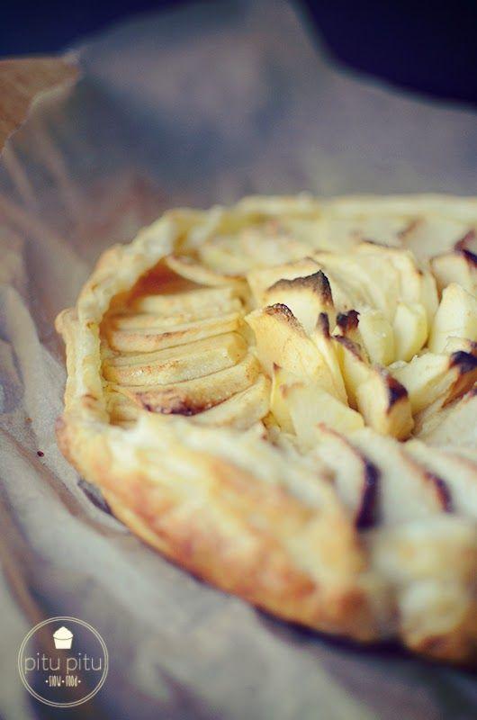 Szybka tarta z jabłkami, czyli coś dobrego | pitu pitu slow food