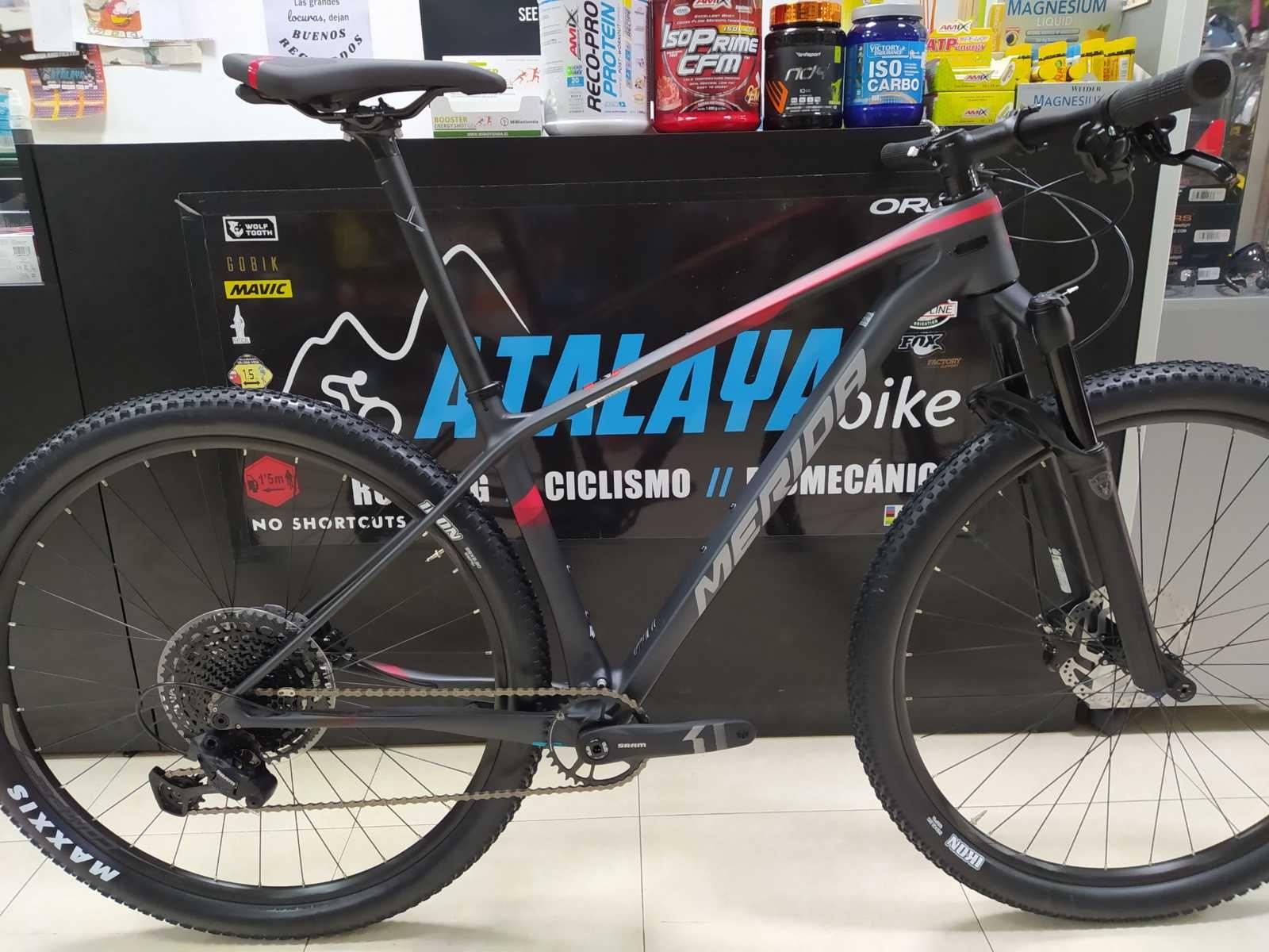 Bicicleta Merida Big Nine En Talla M 56059 Categoría Bicicletas De Montaña Año 2020 Cambio Sram Sx Eagle Bicicletas Merida Bicicletas Bicicletas Mtb