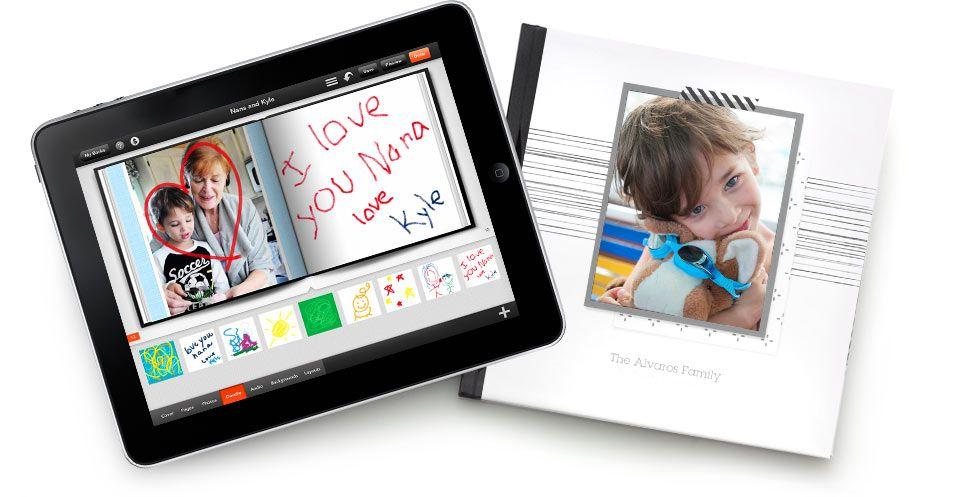 Shutterfly Photo Story for iPad App, iPad Photo Books App
