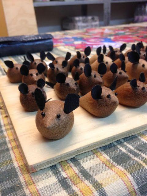 Æblemoster - unika til børn og bolig: Fugle og mus kan bestilles