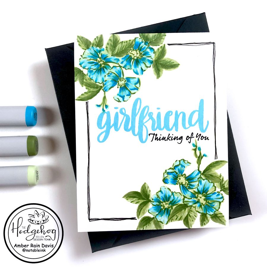 Is Your Floral Stamp Too Intricate? Nope, Try This! in