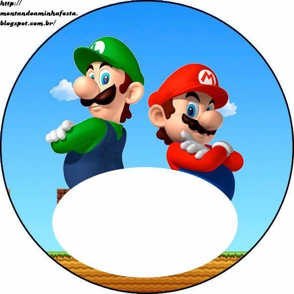 Free Super Mario Bros Party Printables Mario Birthday Printables