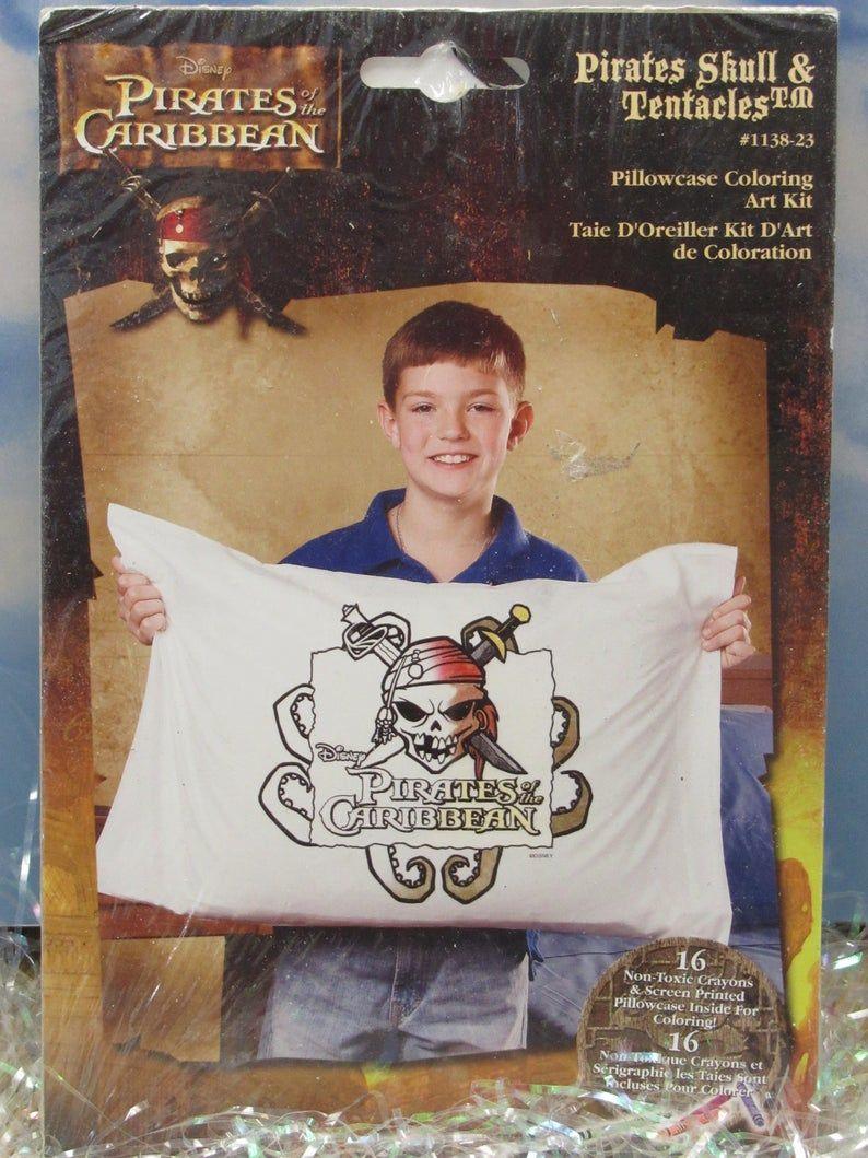 Pillowcase Coloring Art Kit Design