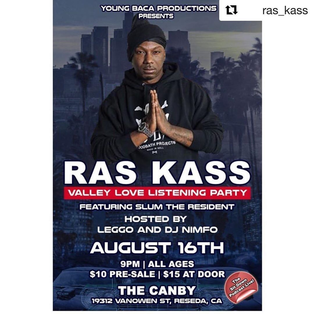 Patrick Antonian — •Ras•Kass•Live•818 (at The Canby Bar