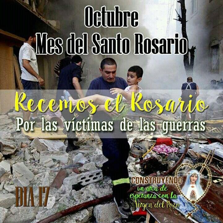 #recemoselsantorosario#reto#17dias rezando