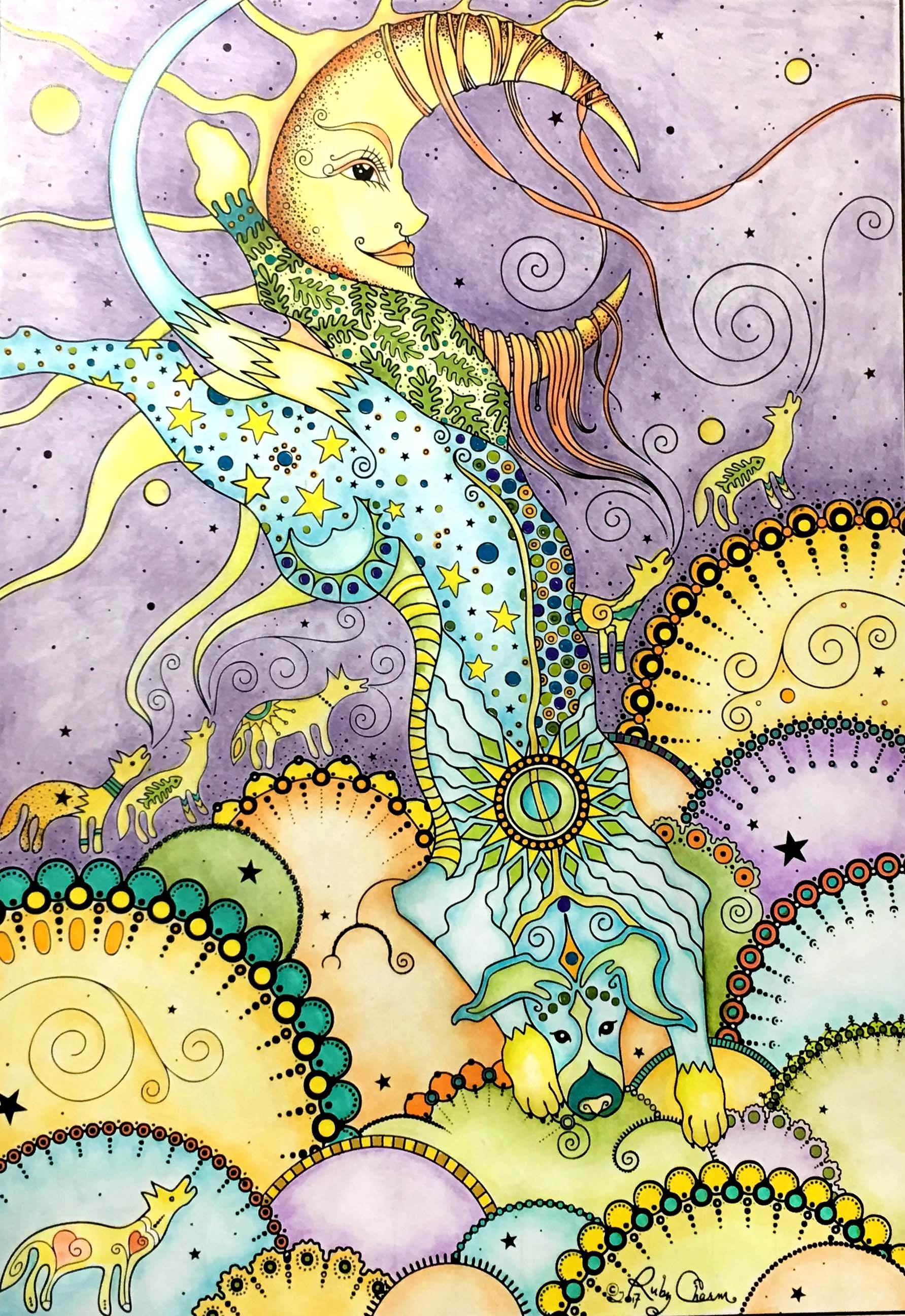 Pin by Ruby Charm Colors on Coloring Pages & Books by ...