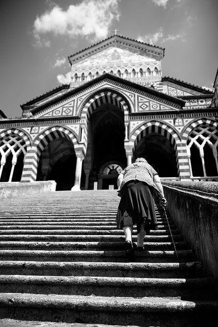 Amalfi - Going to Church @PierPaolo!
