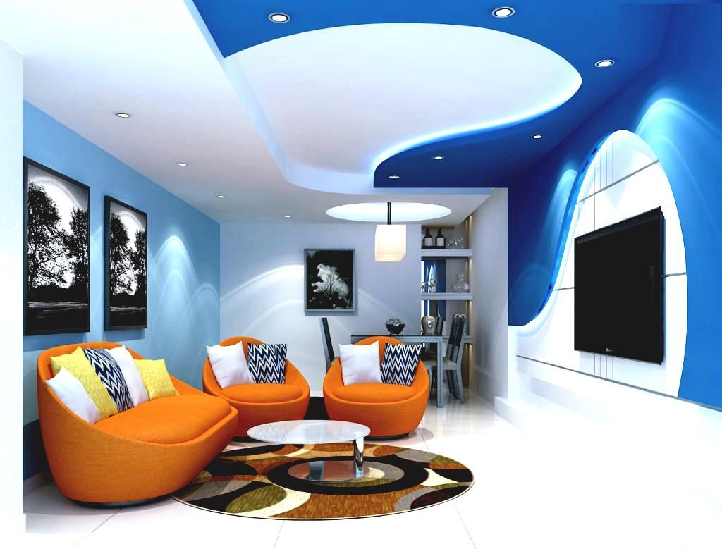 Living Room False Ceiling House Ceiling Design Modern Room Design
