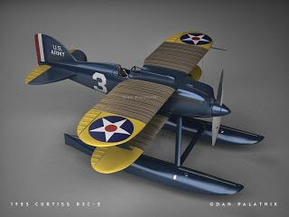 A Garagem Digital de Dan Palatnik | The Digital Garage Project: Curtiss R3C-2 - Final