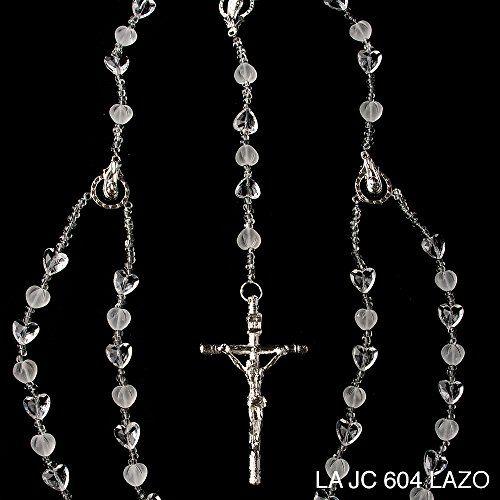 The Heart Shaped Wedding Lazo LAJC604 - Lazo de Bodas Handcrafted Swarovski Crystal Wedding Lasso - Lasso de Bodas. Made with heart shaped crystals and a variety of crystal beads Details and Traditions http://www.amazon.com/dp/B00UY3CBY6/ref=cm_sw_r_pi_dp_f3kHwb1R8GKNN