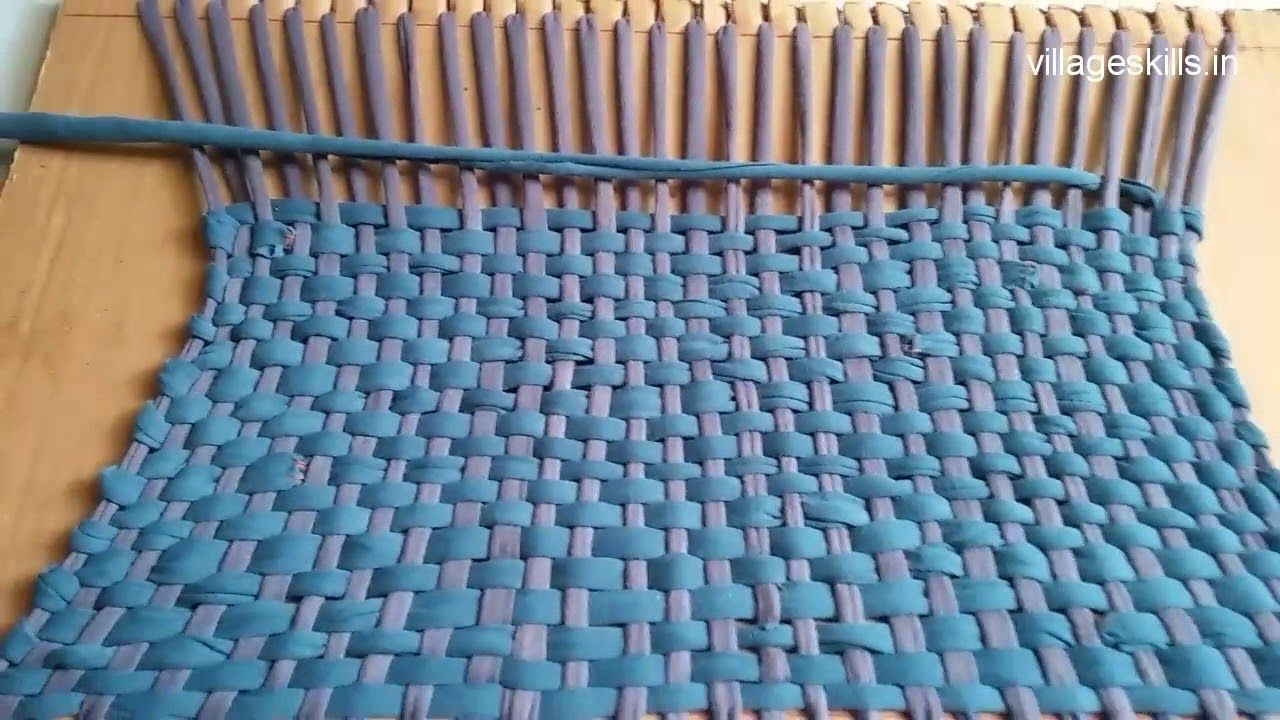 Recycling Ideas From Old Clothes How To Make Door Mat