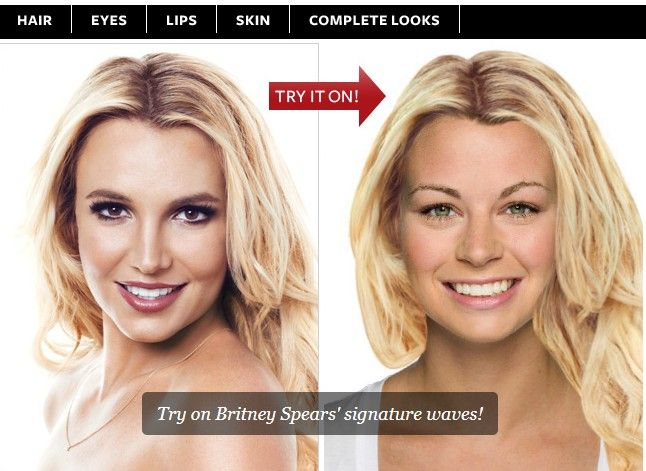 Hollywood Hair Virtual Makeover Make Up Online Free Beauty