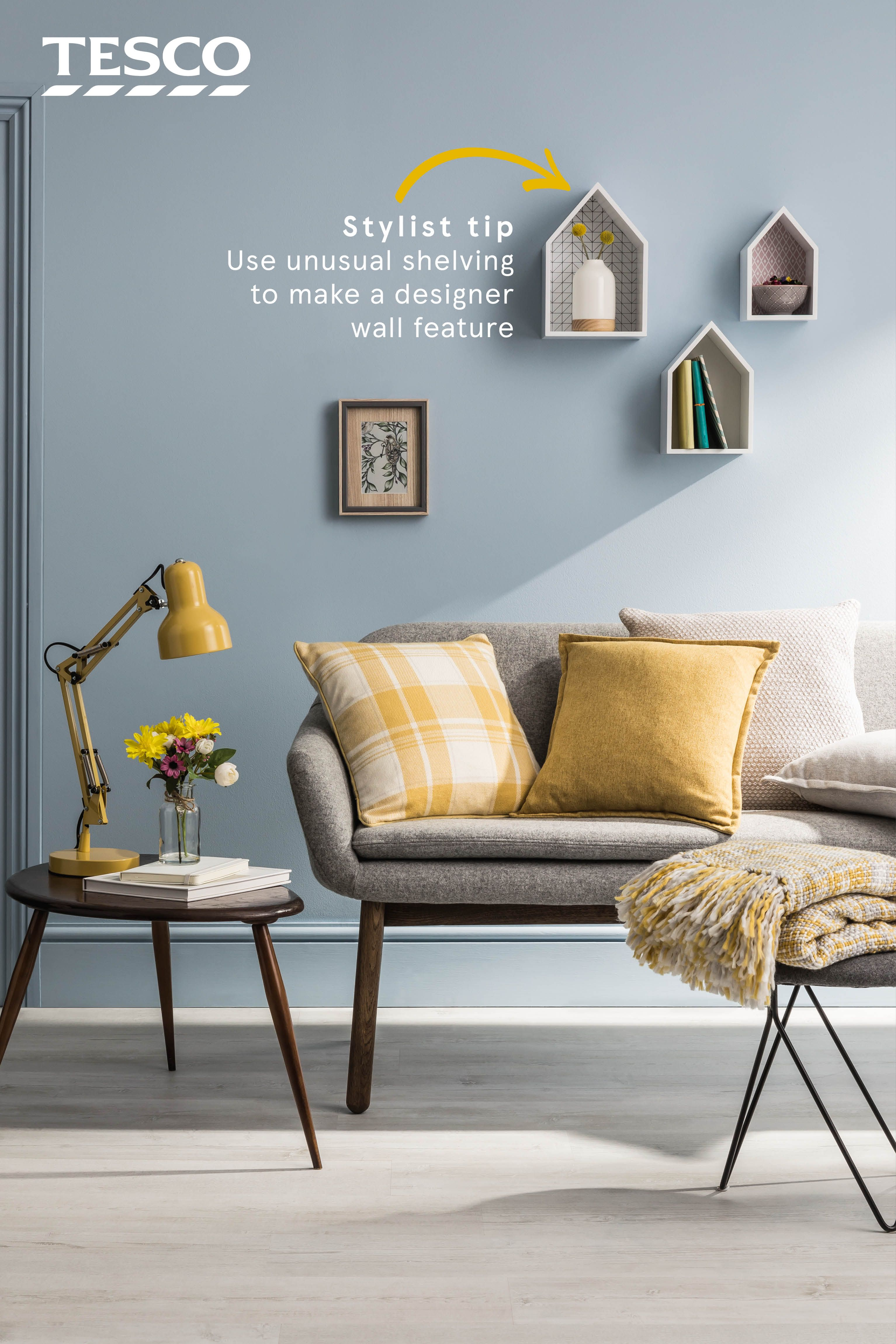 Looking for some colourful living room accessories to brighten up