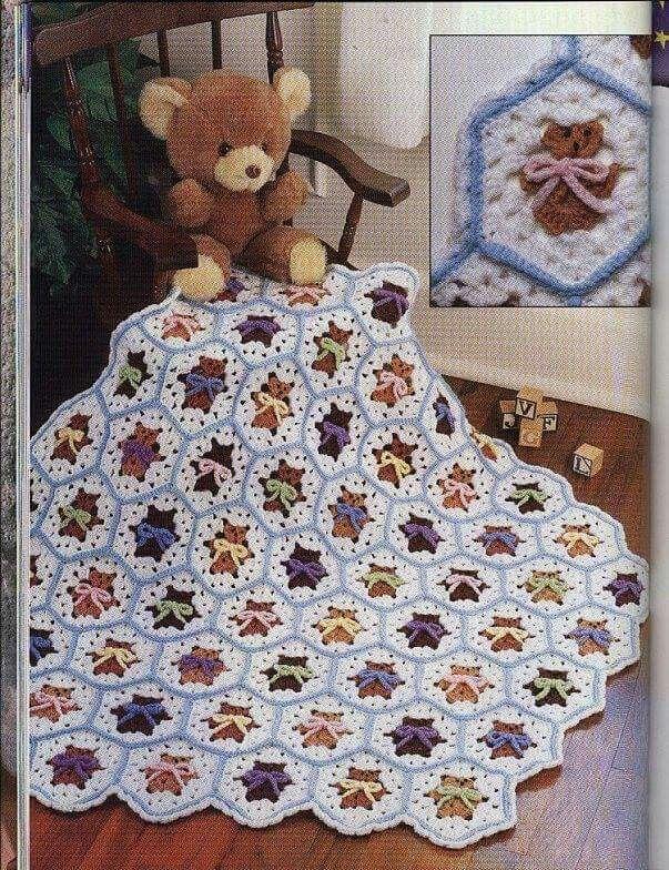 Pin de Julieta Martinez Ortiz en Crochet Cubrecamas | Pinterest ...