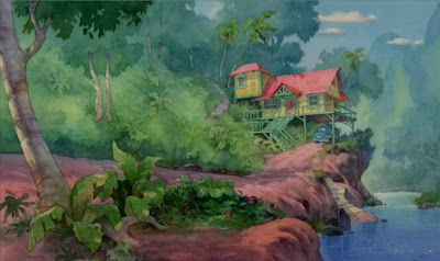 animation backgrounds lilo and stitch