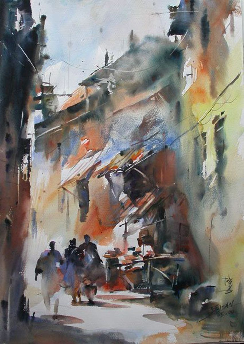 Watercolor books by search press - This Is Another Of The Artists I First Became Aware Of In Kees Van Aalst S Popular Book Realistic Abstracts Search Press Apart F