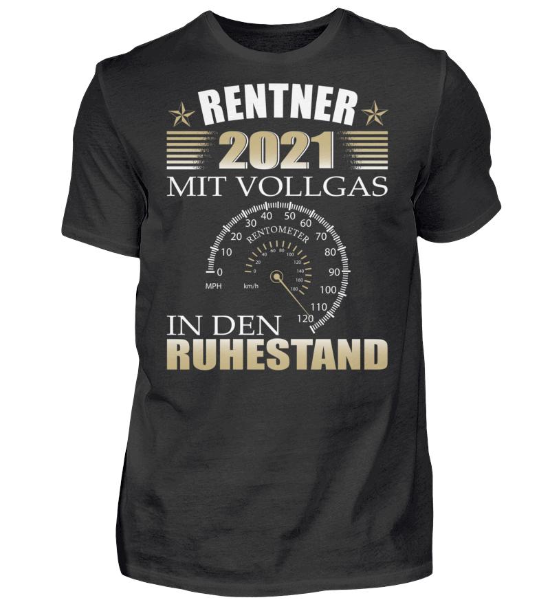Rentner 2021 Vollgas in den Ruhestand | Shirt designs ...