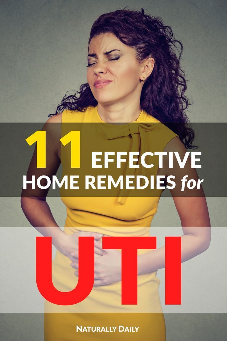 12 Effective Home Remedies for UTI or Bladder Infection