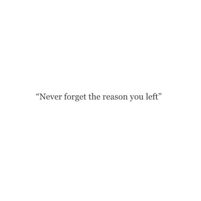 never forget! & remind yourself when needed! :)