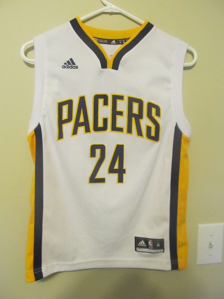 huge discount 84dee 472c8 Paul George - Indiana Pacers jersey - Adidas youth medium ...