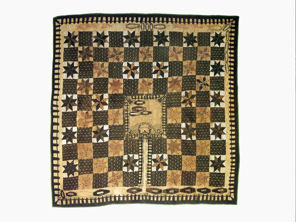 Kentucky Coffin Quilt Flickr Photo Sharing Vintage Quilts Old Quilts Antique Quilts