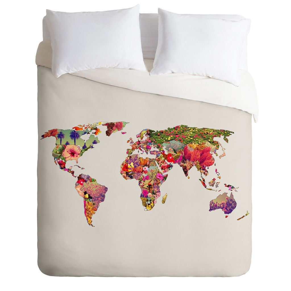 Bianca green its your world duvet cover duvet twin comforter and dorm bianca green its your world duvet cover deny designs home accessories gumiabroncs Images