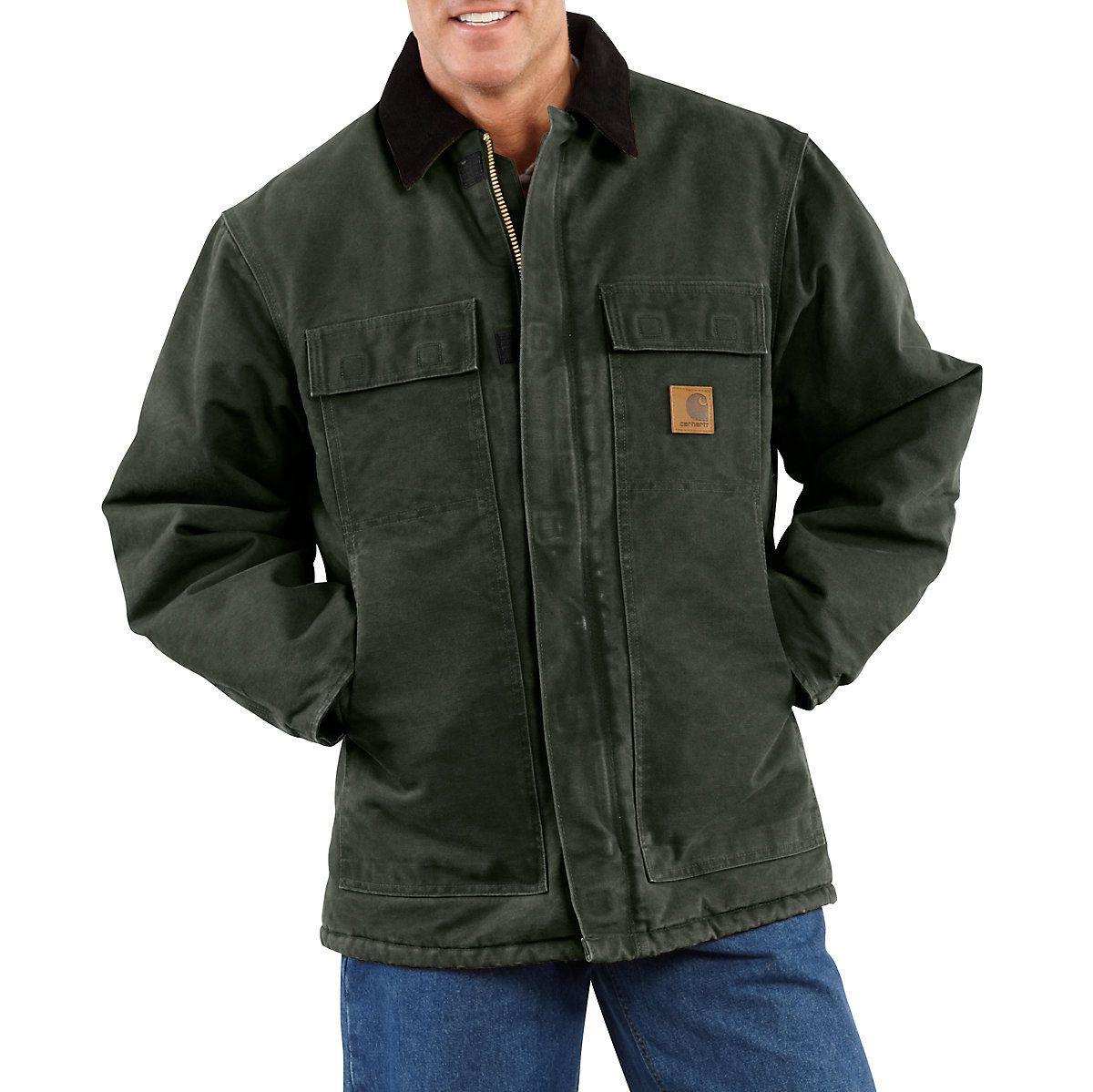 Mens Carhartt Mens Arctic Quilt Lined Sandstone Traditional Coat C26 Carhartt Men/'s Arctic Quilt Lined Sandstone Traditional Coat C26 Carhartt Sportswear