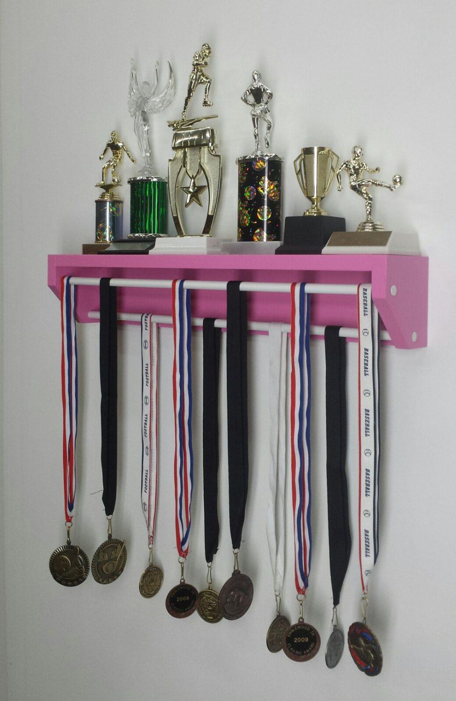 Trendy Trophy Display  Petite Version Pink. (pat. Pend.R1137542).