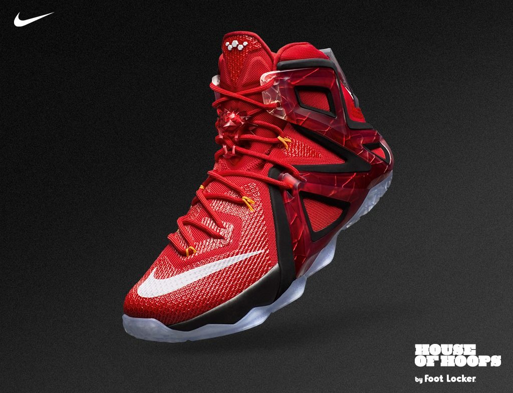 the best attitude 38d74 93ce1 Victory is demanding. Greatness demands more. Nike LeBron 12 ...