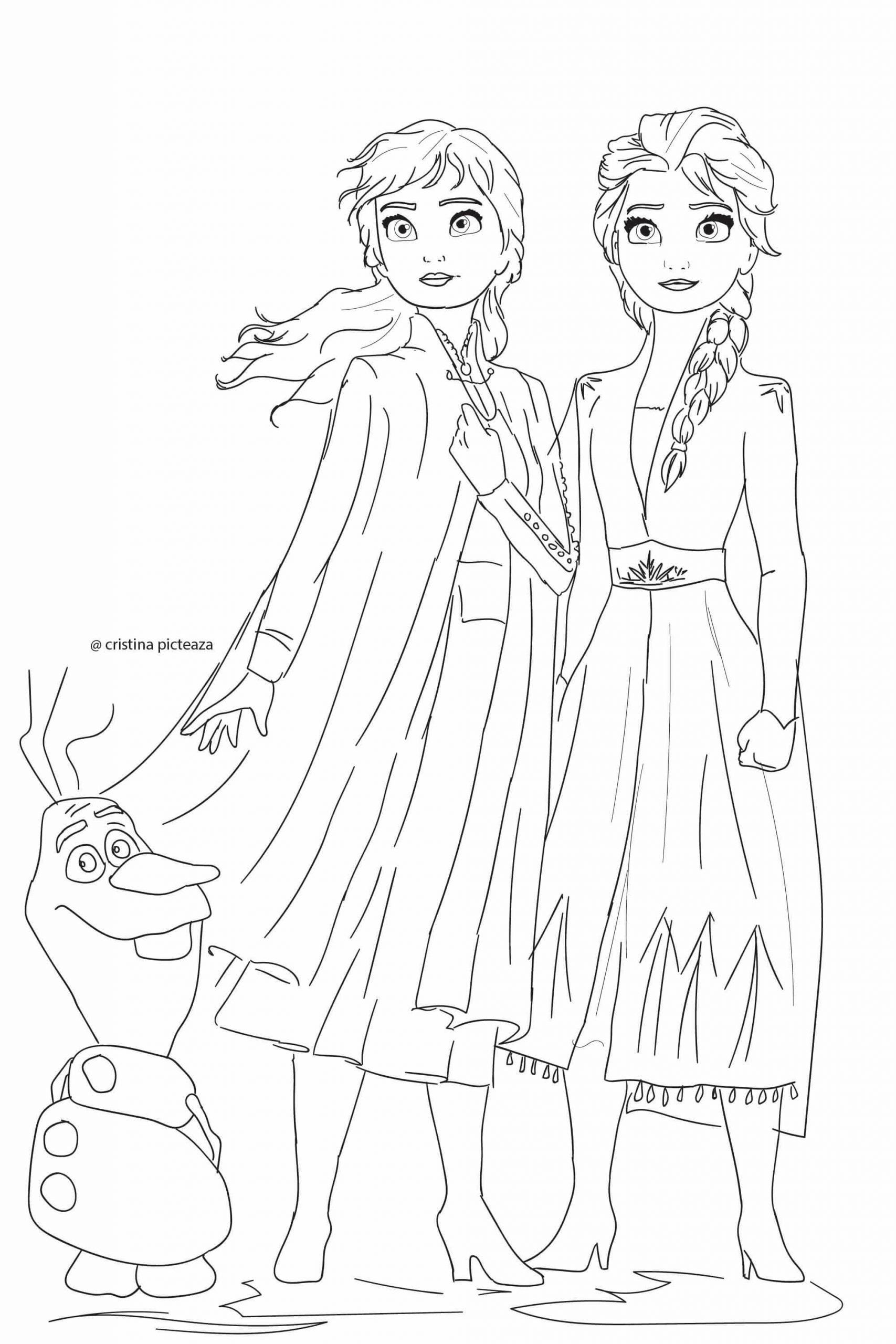 Frozen Coloring Books For Kids Coloring Pages Color Frozen Coloring Elsa And Anna Sh In 2020 Elsa Coloring Pages Princess Coloring Pages Disney Princess Coloring Pages
