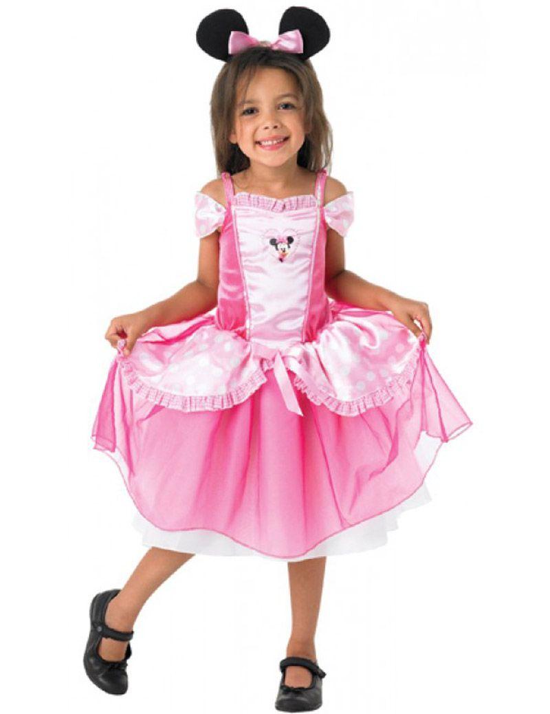 Déguisement Minnie Mouse™ rose fille : Ce déguisement de Minnie ...