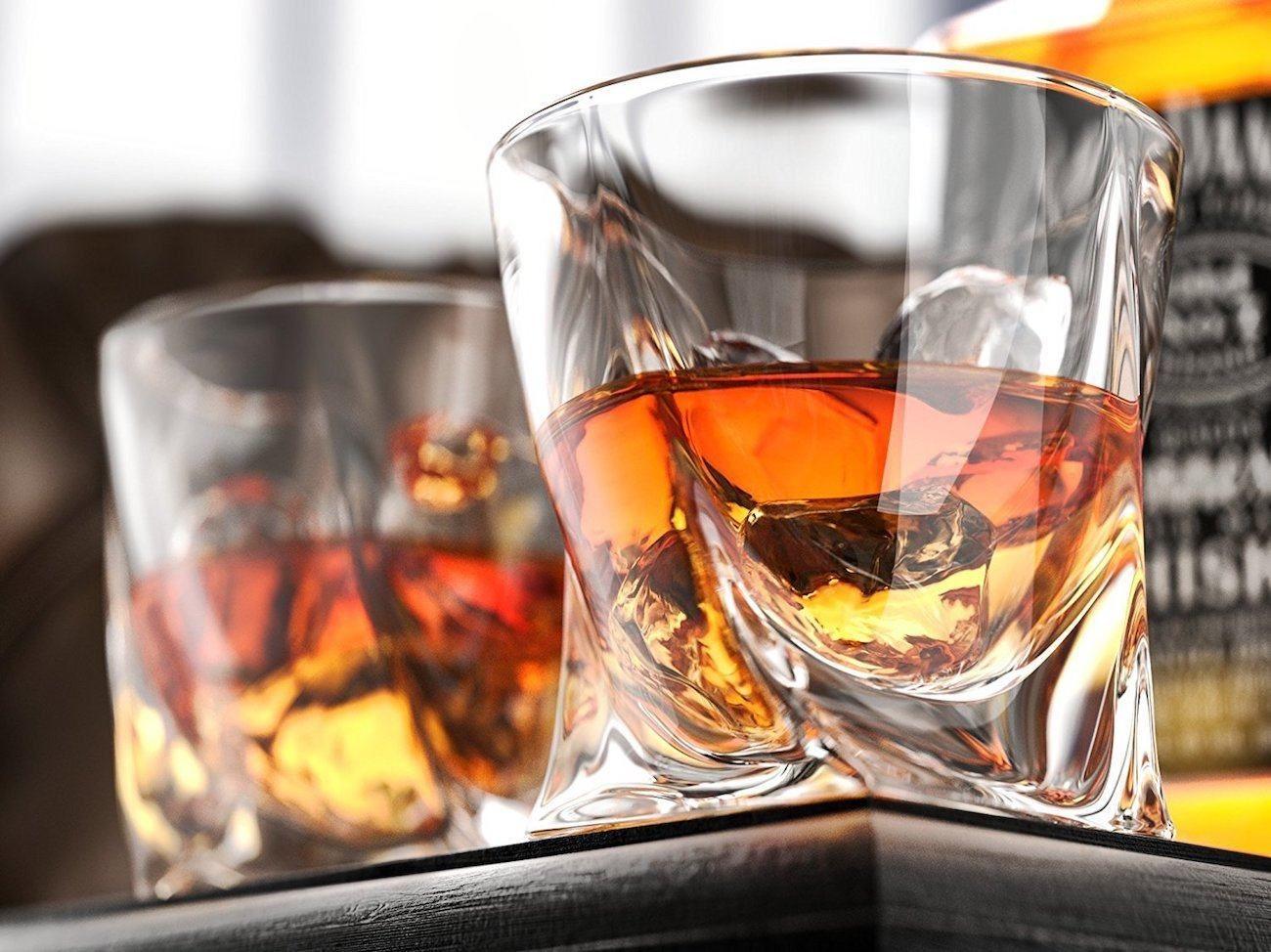 Ashcroft Whiskey Glass Set Liquor Decanter Set Liquor Decanter