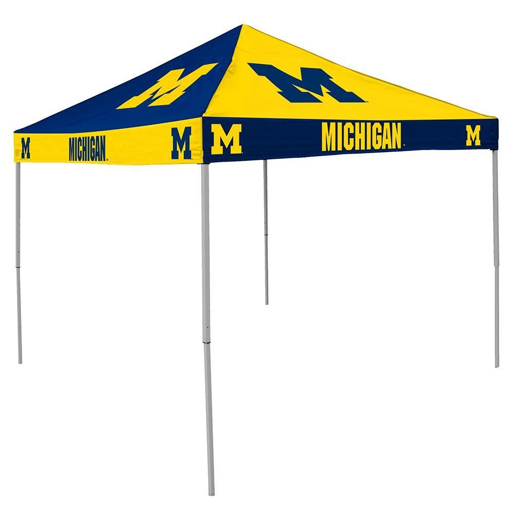 Michigan Wolverines NCAA 9u0027 x 9u0027 Checkerboard Color Pop-Up Tailgate Canopy Tent  sc 1 st  Pinterest & Michigan Wolverines Ncaa 9u0027 X 9u0027 Checkerboard Color Pop-up ...
