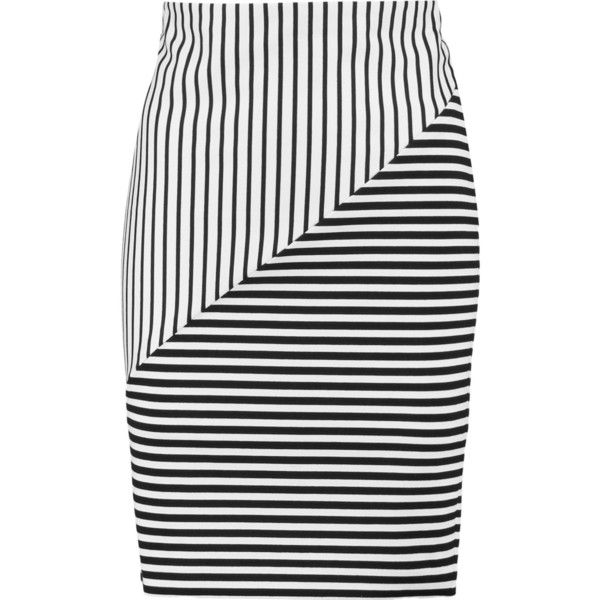 Rebecca Minkoff Striped Knee-Length Skirt Order For Sale 256CHNqSQ